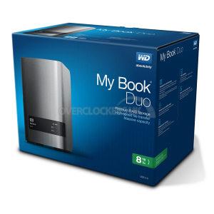"WD My Book Duo 2x4TB 8TB USB 3.0 3.5"""