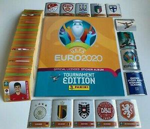Panini Euro 2020 Tour. Edition 678 sličica + HC Album+