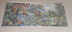Vilerov goblen Lov na jelena 111x49 perfektno stanje