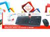 Tipkovnica i miš bežični Genius Smart KM-8100