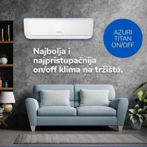 GREE Azuri Titan Premium klima 12 ka A-Klasa On/Off