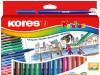 Flomasteri 24/1 Korellos Standard Kores 29014