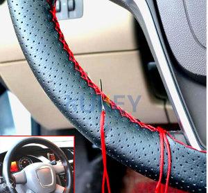 Zaštita za volan crno crvena