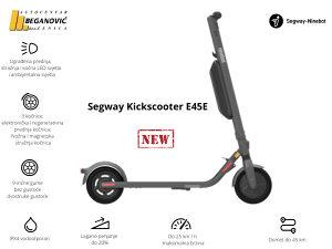 Segway KickScooter E45E električni romobil