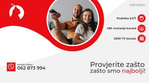 RedCat IPTV - VIDEOTEKA PAKET - 10 000 SADRŽAJA