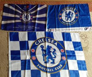 3 razlicite zastave fc CHELSEA