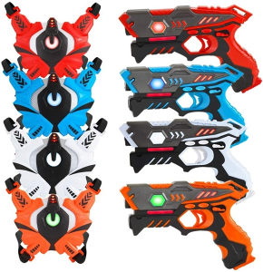 Laserski pistolj infracrveni Vatos za djecu