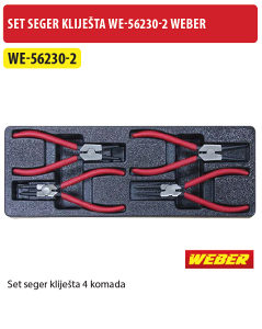 SET SEGER KLIJEŠTA WE-56230-2 WEBER