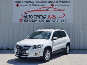 VW TIGUAN 2.0 TDI TEAM 4X4 NAVI XENON 125 KW 2010 GOD