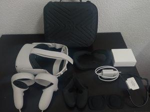 Oculus Quest 2 + Dosta Opreme + SVE Besplatne Igre/App