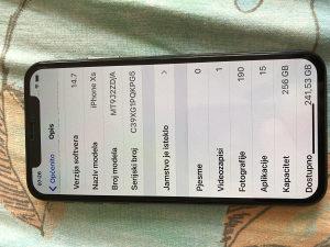 IPHONE Xs 256 GB BEZ ZAMIJENA