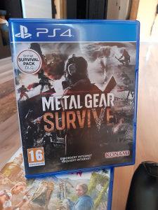 METAL GEAR SURVIVE PS4 IGRA