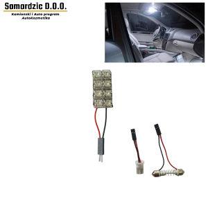 Led osvjetljenje za auto kabinu 3x1.5cm 8 dioda