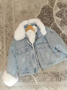 Nova teksas jakna s krznom