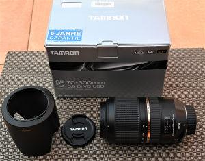 Tamron AF SP 70-300 f/4-5.6 Di VC USD za Nikon