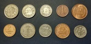 Kovani metalni novac, kovanice, novčanice - LOT 3