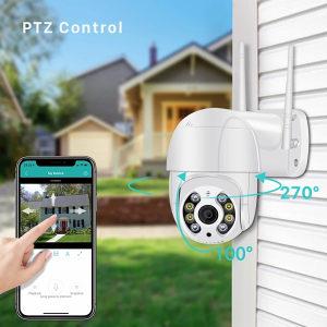 PTZ pokretna rotirajuca kamera 1080 wireless fullhd
