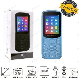 Mobitel A20 mini Telefoni na tipke telefon za starije