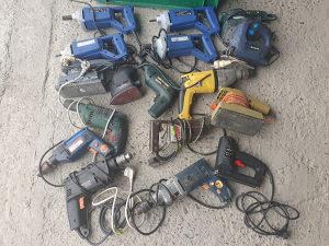 20 mašina busilica šlajfarice ubodne pile alat