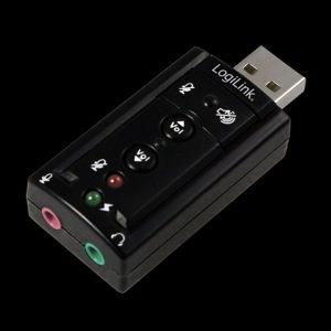 USB zvucna audio karta 7.1 Logilink nova
