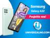 Samsung Galaxy A22 128GB (4GB RAM) – 4G (LTE)