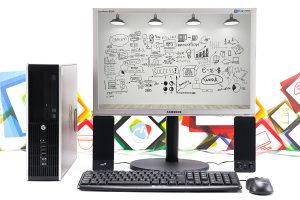 SET HP 8300 + Samsung 22'' i5-3470 120GB SSD 8GB RAM