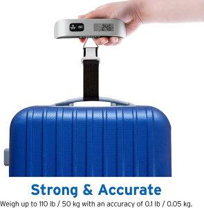 Digitalna vaga za prtljag - kofer