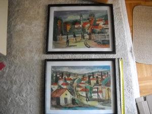 Umjetničke slike Tuzla - 2 komada
