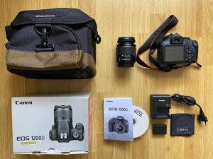 Fotoaparat Canon EOS 1200D & Objektiv 18-55mm