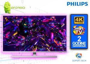 """TV PHILIPS SMART 4K LED 65"""" 65PUS8545/12 Android"""