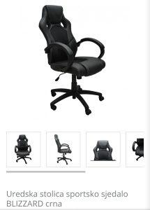 Kancelarijska okretna stolica, nova, najpovoljnije