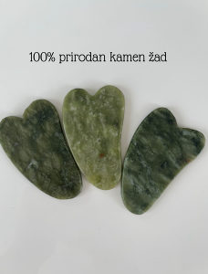 Gua Sha kamen od žada za masažu lica