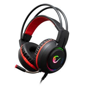 Gaming slušalice Rampage RM-K25 LUNATIC PRO 7.1 RGB RED