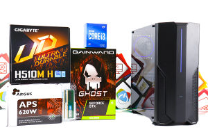 Gaming PC Iron 32; i3-10100F; GTX 1660 Super; 240GB SSD