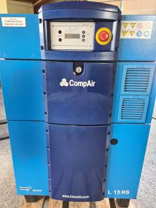 Polovni vijčani kompresor CompAir 15kW sa inverterom