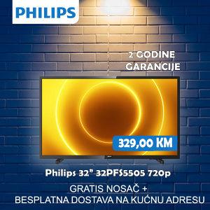 "TV PHILIPS 32"" 32PFS5505/12 HD"