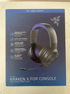RAZER KRAKEN X FOR CONSOLE PS4 XBOX HEADSET SLUSALICE