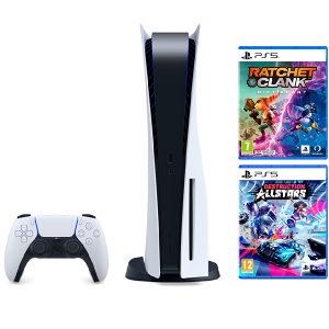 Play Station PS5 Konzola   2 igre