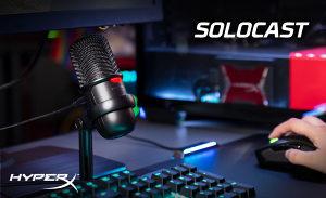 Gaming mikrofon HyperX SoloCast Standalone
