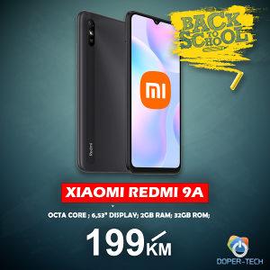 Mobitel Xiaomi Redmi 9A 2GB / 32GB Back 2 School