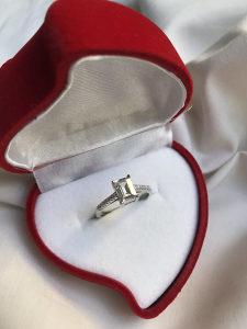 Prsten zarucnicki/vjerenicki srebro 925