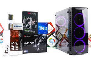 Gaming PC Aquarius 23; i3-10100F; GT 740; SSD; DDR4