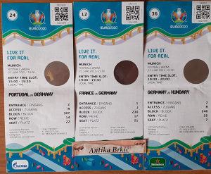 3 ulaznice sa EURO2020