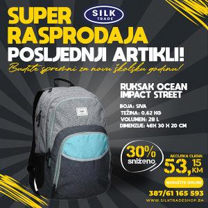RUKSAK OKRUGLI OCEAN IMPACT STREET 530666