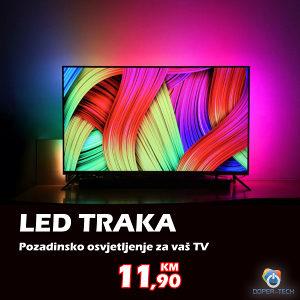 LED traka RGB 2m sa kontrolerom 5050 5V 3x2A
