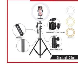 Led Ring Studio Light 5500K