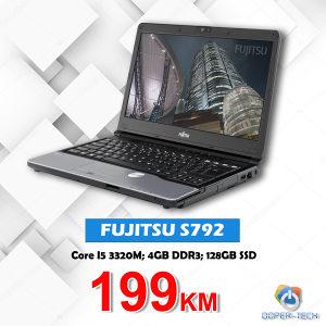 Laptop Fujitsu S792; i5-3320m; 128GB SSD; 4GB RAM