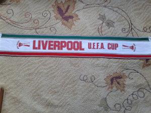 vintage šal LIVERPOOL EUFA CUP