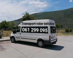 Kombi prevoz robe selidbe 061299095 20-30 KM namjestaja