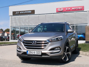 Hyundai Tucson Classic plus 2.0 dizel 4x4 automatik